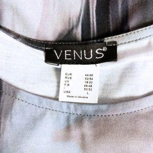 VENUS Dresses - VENUS abstract print sexy stretch bodycon dress L